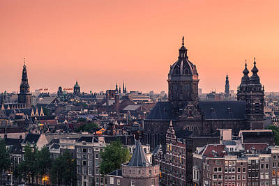 Amsterdam 03 Poster by Tom Uhlenberg