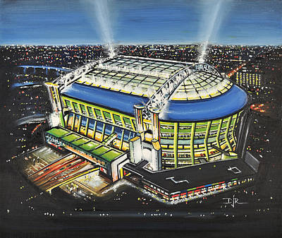 Amsterdam Arena - Ajax Poster by D J Rogers
