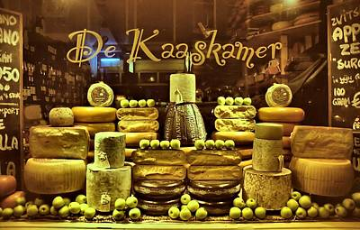 Amsterdam Cheese Shop Poster