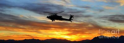 An Ah-64 Apache Poster