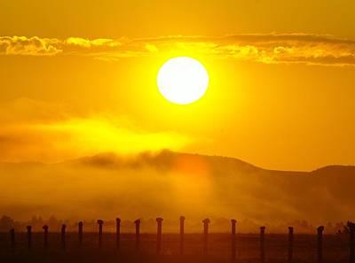 An Alberta Sunrise Poster