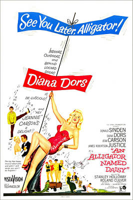 An Alligator Named Daisy, Us Poster Poster by Everett