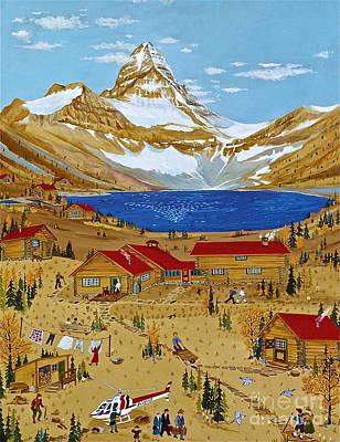 An Alpine Autumn Poster
