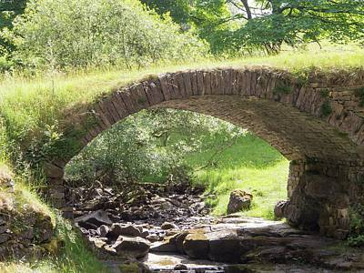 An Ancient Packhorse Bridge In Dentdale Poster