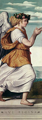 An Angel Poster by Giovanni Battista Moroni