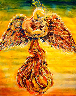 An Angels Love Poster by Giorgio Tuscani
