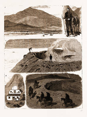 An Ascent Of Mount Etna, Italy Poster
