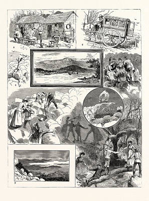 An Ascent Of Mount Wellington Tasmania 1. Mount Wellington Poster by English School