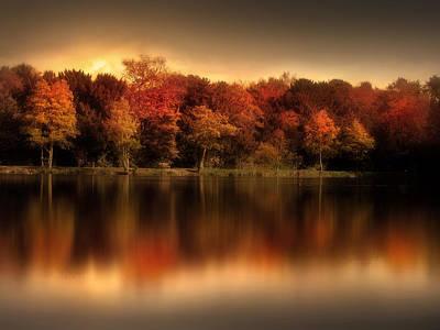 An Autumn Evening Poster by Jennifer Woodward
