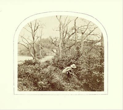 An Autumn Landscape, William Morris Grundy Poster