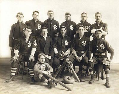 An Early Sf Baseball Team Poster