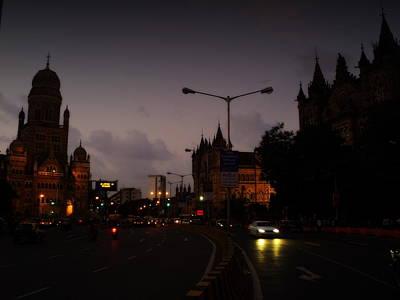 Mumbai Poster by Salman Ravish
