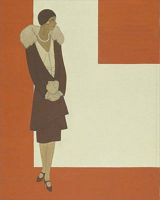 An Illustration For Pattern Book Poster by Polly Tigue Francis
