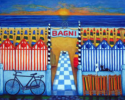 An Italian Summer's End Poster by Lisa  Lorenz