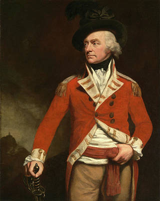 An Officer In The East India Uniform Of The 74th Highland Poster by Litz Collection