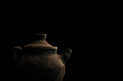 Poster featuring the photograph An Old Pot by Marwan Khoury