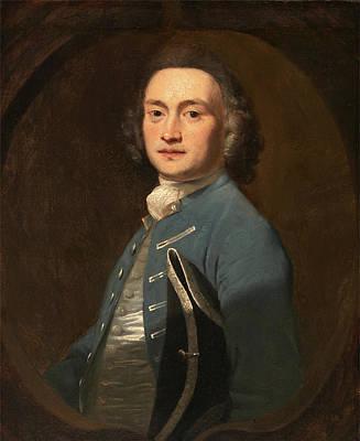 An Unknown Man, Sir Joshua Reynolds, 1723-1792 Poster