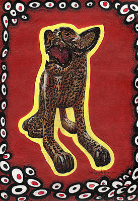Anahuac Cats Poster by Daniel Levy policar