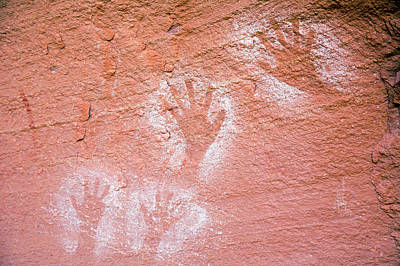 Anasazi Pictographs Poster by Jim West