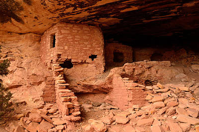 Anasazi Ruins At Comb Ridge Poster