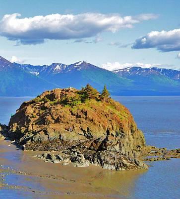 Anchorage Alaska Poster by Dacia Doroff