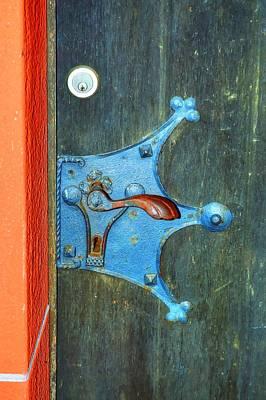 Ancient Door Handle Poster
