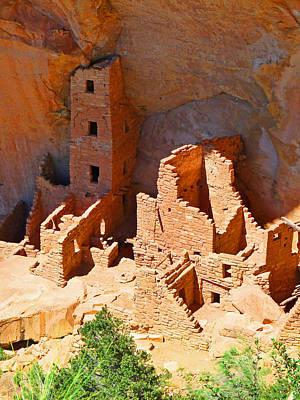 Ancient Dwelling Poster by Alan Socolik