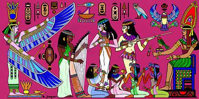 Ancient Egypt Splendor Poster