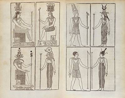 Ancient Egyptian Deities Poster by Middle Temple Library
