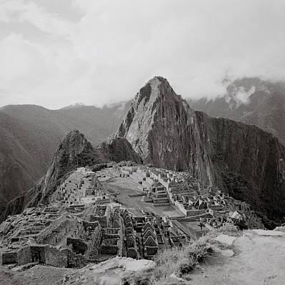 Ancient Machu Picchu Poster by Shaun Higson