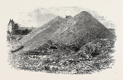 Ancient Mounds At Gamla Upsala Poster by English School