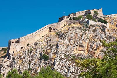 Ancient Palamidi Fortress Poster