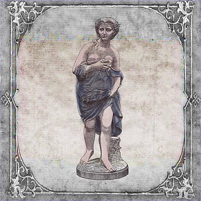 Ancient Sculpture Art Poster by Art World