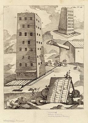 Ancient Siege Warfare Poster
