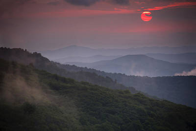 Poster featuring the photograph Ancient Smokies by Serge Skiba