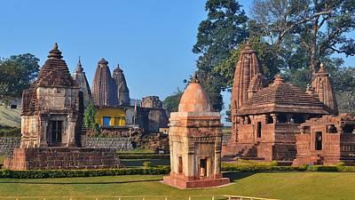 Ancient Hindu Temple Complex 5 - Amarkantak India Poster