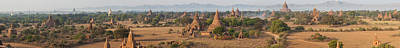 Ancient Temples In Bagan, Mandalay Poster