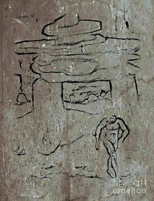 Ancient Wall Art Poster by John Malone
