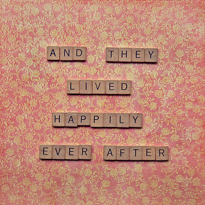 And They Lived Happily Ever After Poster by Nastasia Cook