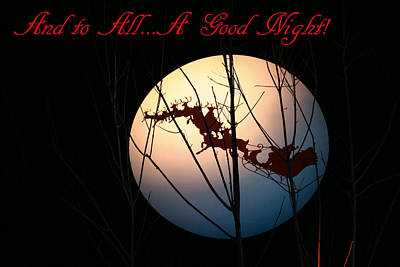 And To All A Good Night Poster