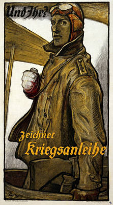 And You?, 1917 Poster by