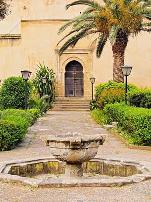 Andalusian Gardens In Rabat Poster by Karol Kozlowski