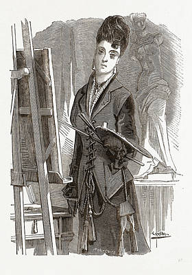 Andalusian Vest, 19th Century Fashion Poster