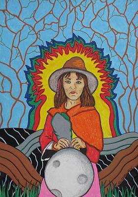 Andean Moonchild Poster