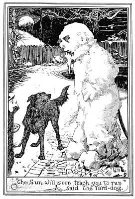 Andersen Snow Man Poster