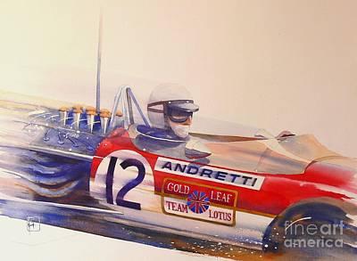 Andretti Poster by Robert Hooper