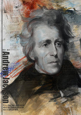 Andrew Jackson Poster by Corporate Art Task Force