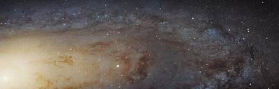 Andromeda Galaxy Poster by Nasa, Esa, J. Dalcanton, B.f. Williams, And L.c. Johnson (u. Of Washington), The Panchromatic Hubble Andromeda Treasury (phat) Team, And R. Gendler