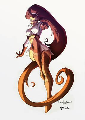 Andromeda Poster by Ylenia Art