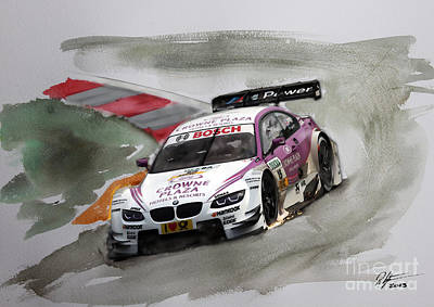 Andy Priaulx Bmw Dtm Poster